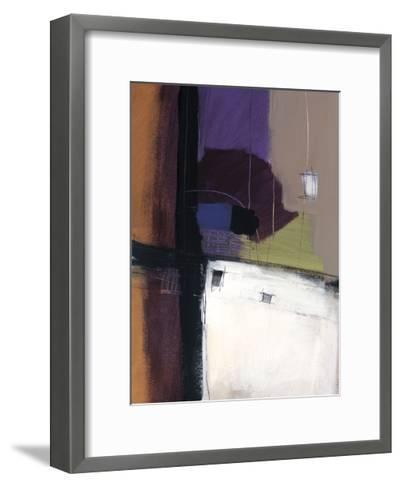 Linear Motion IV-Mary Beth Thorngren-Framed Art Print