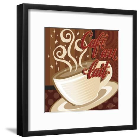 Cafe au Lait-P.j. Dean-Framed Art Print