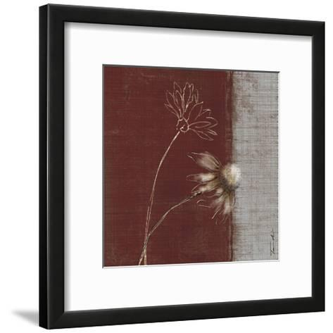 Daisy Sketch I-Tandi Venter-Framed Art Print