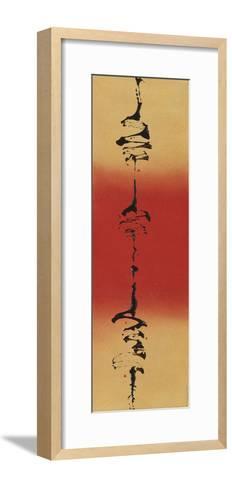 Rising Sun II-Mia Cameron-Framed Art Print