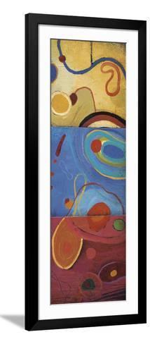 String Theory III-Don Li-Leger-Framed Art Print