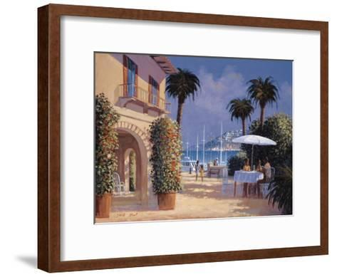 Through the Palms-David Short-Framed Art Print