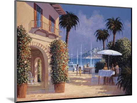 Through the Palms-David Short-Mounted Giclee Print