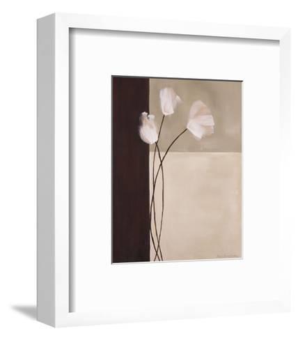 Floral Whispers II-Karen Lorena Parker-Framed Art Print