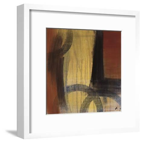 Circles in Time II-Jo Clouden-Framed Art Print