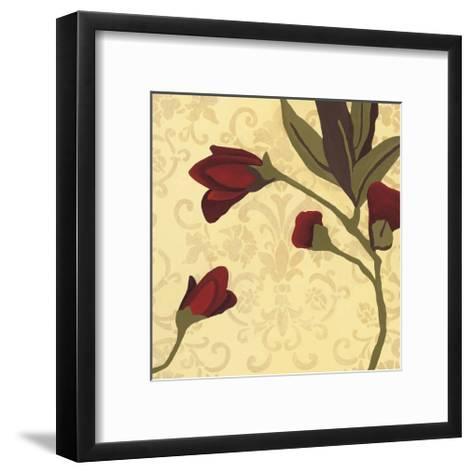 Fiore Poema II-Lee Anderson-Framed Art Print