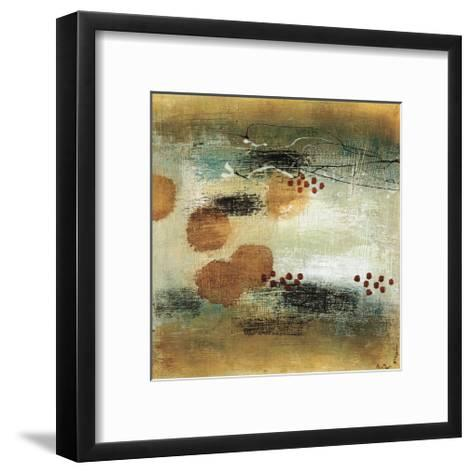 Drifting Current II-Heather Mcalpine-Framed Art Print