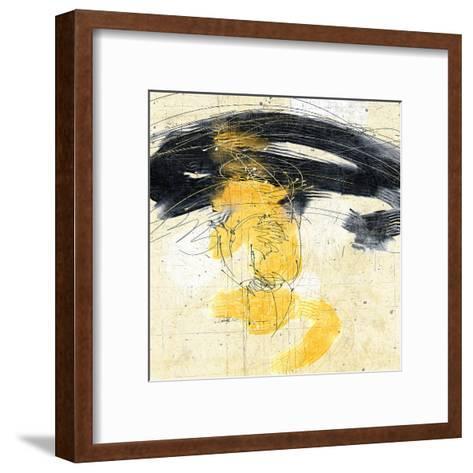 Zen in Yellow II--Framed Art Print