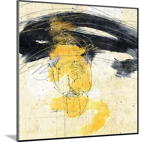 Zen in Yellow II--Mounted Art Print