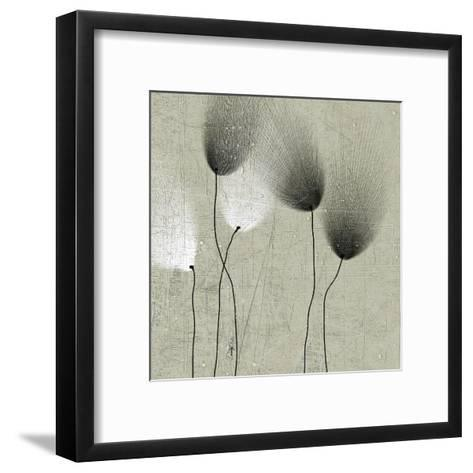Floral in Shades II--Framed Art Print