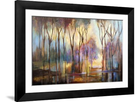 La Couleur des Arbres--Framed Art Print