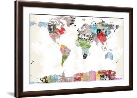 World Map II--Framed Art Print
