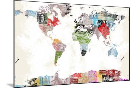 World Map II--Mounted Art Print