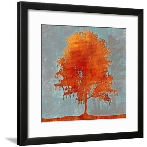 Tree Vector II-Michael Durkin-Framed Art Print