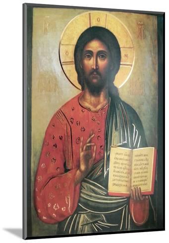 Cristo Pantocrate--Mounted Art Print