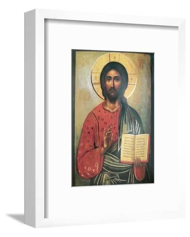 Cristo Pantocrate--Framed Art Print