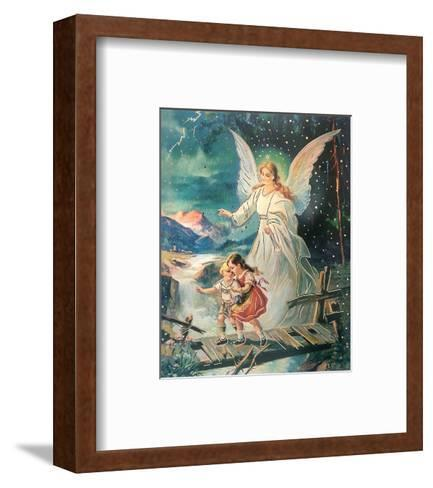 Angelo Custode--Framed Art Print