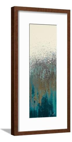 Teal Woods II-Roberto Gonzalez-Framed Art Print