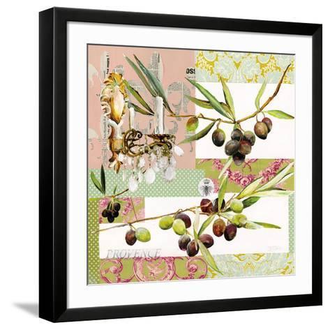 Lustre Olive-Lizie-Framed Art Print
