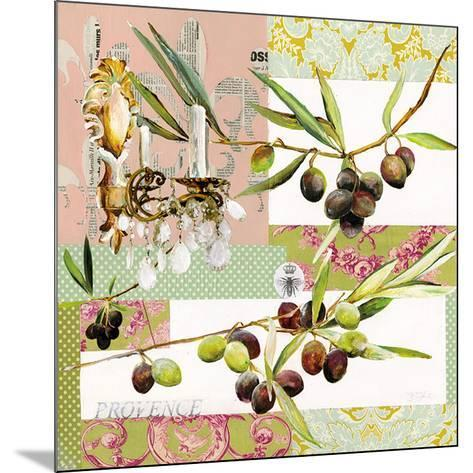 Lustre Olive-Lizie-Mounted Art Print