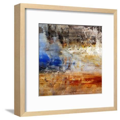 Abstract Vibration 3-Jean-Fran?ois Dupuis-Framed Art Print