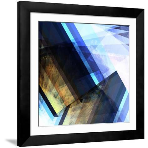 Urban Abstract 1-Jean-Fran?ois Dupuis-Framed Art Print