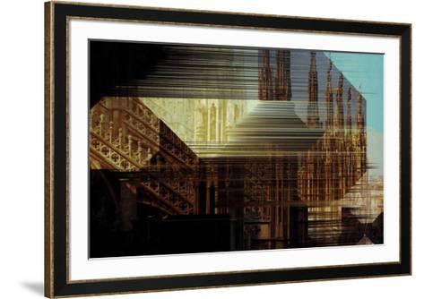 Urban Abstract 3-Jean-Fran?ois Dupuis-Framed Art Print