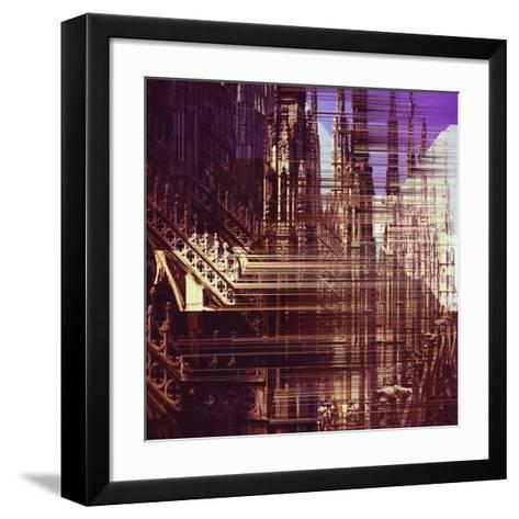 Urban Abstract 12-Jean-Fran?ois Dupuis-Framed Art Print