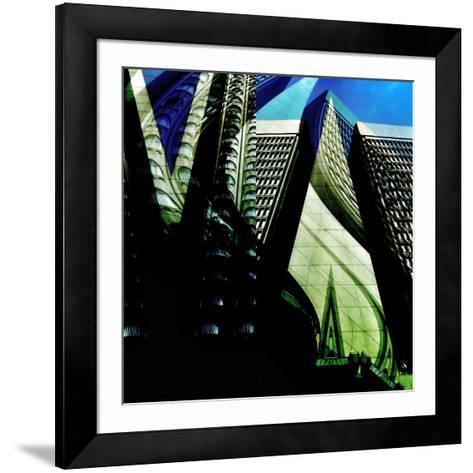 Skyscrapers 1-Jean-Fran?ois Dupuis-Framed Art Print