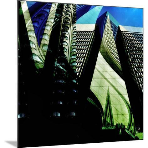 Skyscrapers 1-Jean-Fran?ois Dupuis-Mounted Art Print