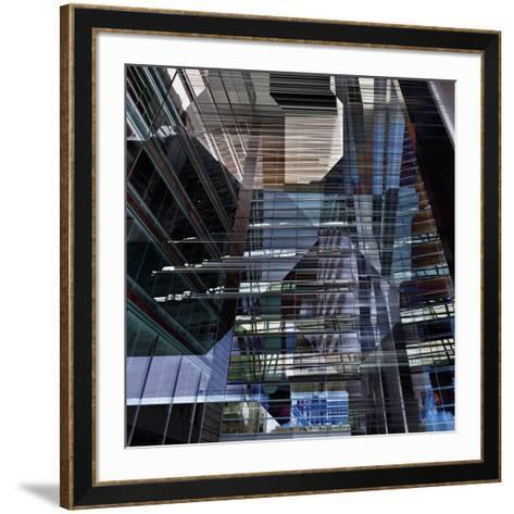 Skyscrapers 6-Jean-Fran?ois Dupuis-Framed Art Print