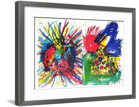 91-94 (One Cent Life)+Rückseite- Mitchell & Ting-Framed Art Print