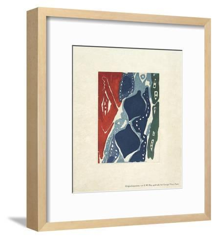 Neujahrsgru?-Ernst Wilhelm Nay-Framed Art Print