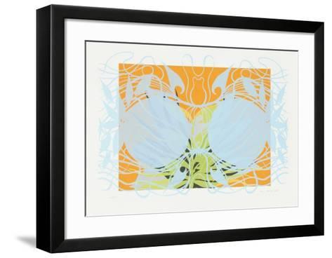Perlenpflanze II-Haure Madjid-Framed Art Print
