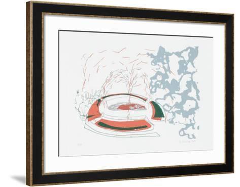 Insel Rot-Jeanette Schnüttgen-Framed Art Print