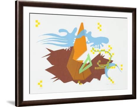 Ohne Titel 2-Haure Madjid-Framed Art Print