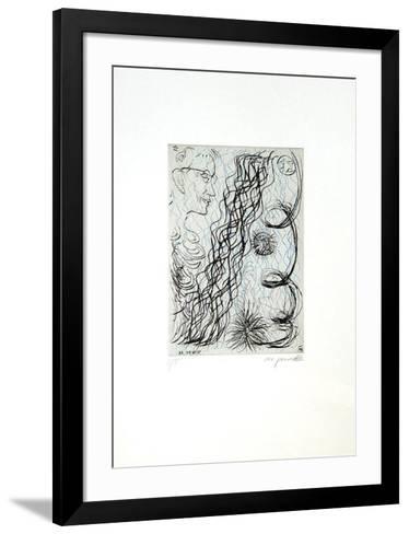 Jetset 4 Brillenträger-A^ R^ Penck-Framed Art Print
