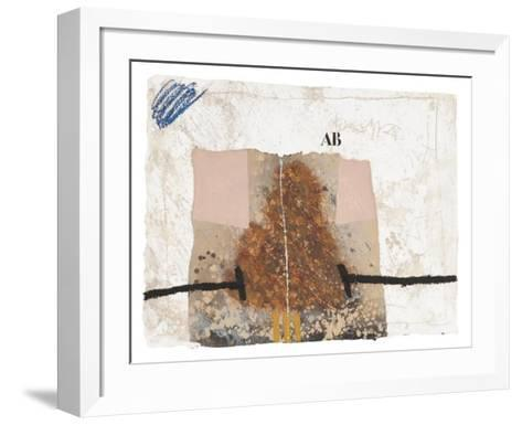 Au fond des pages. 7-James Coignard-Framed Art Print