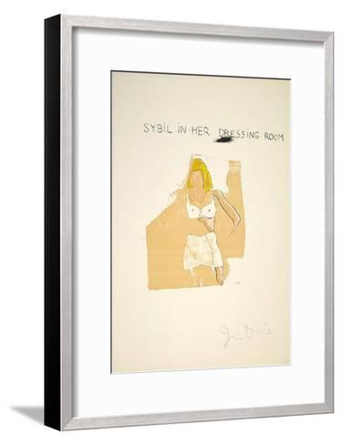 Dorian Gray, Sybil-Jim Dine-Framed Art Print