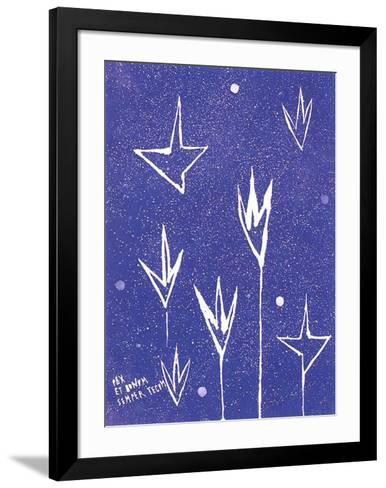 Pax Et Bonum Semper Tecum-Nicola de Maria-Framed Art Print