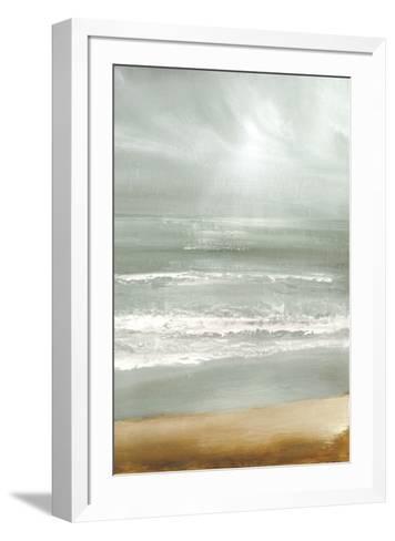 Cloudbreak-Caroline Gold-Framed Art Print