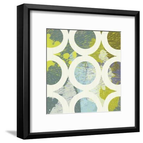 Circling I-Maja-Framed Art Print