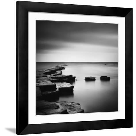 Coastal Calm-Nina Papiorek-Framed Art Print