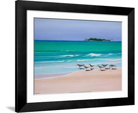 Sand Darlings-John Ketley-Framed Art Print