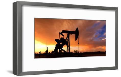 Silhouette-Bob Callender-Framed Art Print