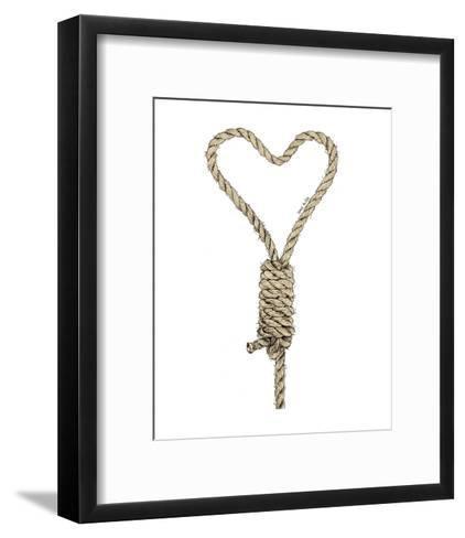 Love Kills-Urban Cricket-Framed Art Print