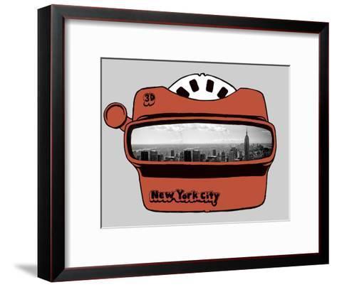 Viewmaster-Urban Cricket-Framed Art Print