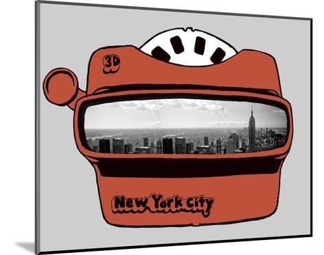 Viewmaster-Urban Cricket-Mounted Art Print