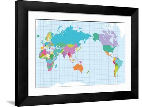 World of Colour-Max Carter-Framed Art Print
