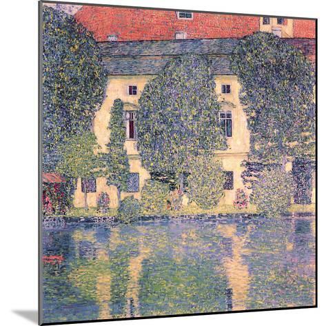 The Schloss Kammer-Gustav Klimt-Mounted Giclee Print